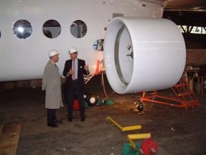 Antrieb des Skyship 600