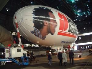 Skyship 600 in der Schweiz