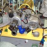 Diesel Boxermotor